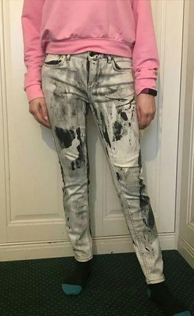 Spodnie, Jeansy Zara Woman r. 38