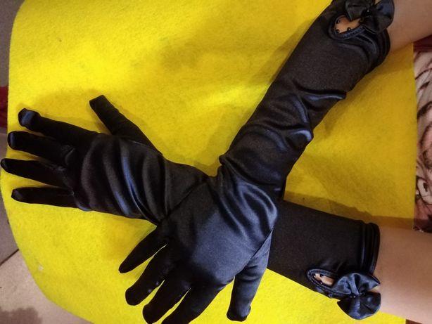 Перчатки эластик длинные