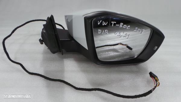 Espelho Retrovisor Direito Electrico Volkswagen T-Roc (A11)