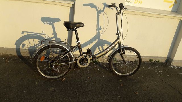 Велосипед складной алюминиевый