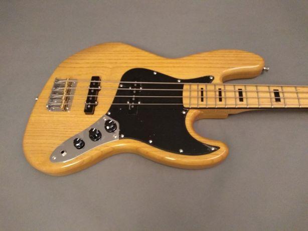 Harley Benton JB-75 MN NA-gitara basowa-bas elektryczny typ JazzBass