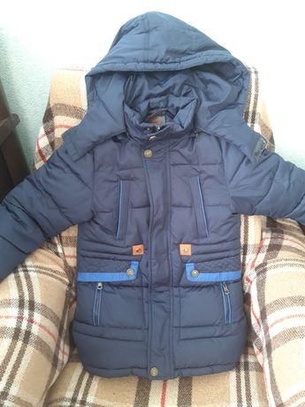 Зимняя куртка на мальчика 7лет