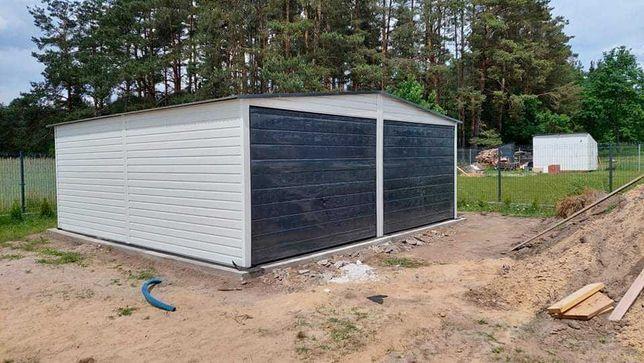 Garaż blaszany premium 6x5 6x6 4x6