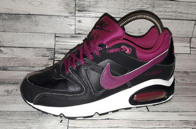 36р.(22.5см) Кожаные кроссовки Nike Air Max. Оригинал