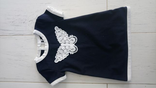 Granatowa sukienka Early Days rozm 74