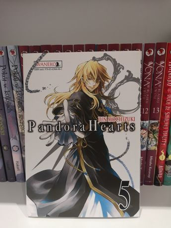 Manga Pandora Hearts, tom 5