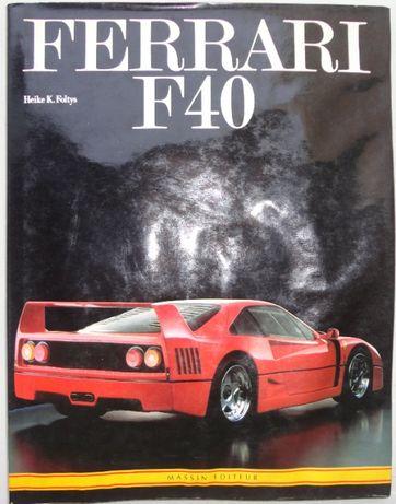 Livros Ferrari e Corvette