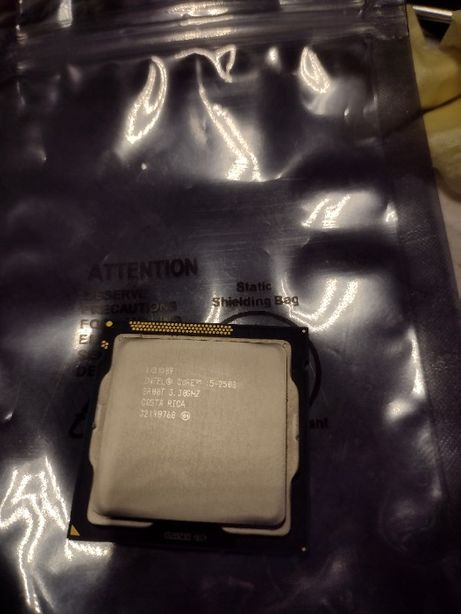 Procesor Intel Core i5 - 2500 4 x 3,3 GHz Socket 1155