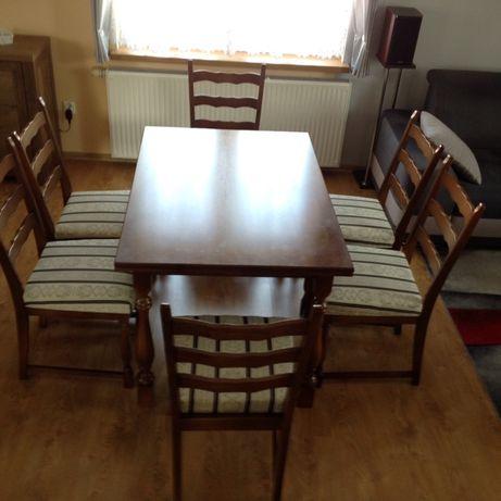 Sprzedam komplet stół rozkładany + 6 krzeseł