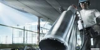 Алмазное сверление отверстий, Резка бетона, Бурение без пыли, Вытяжки.