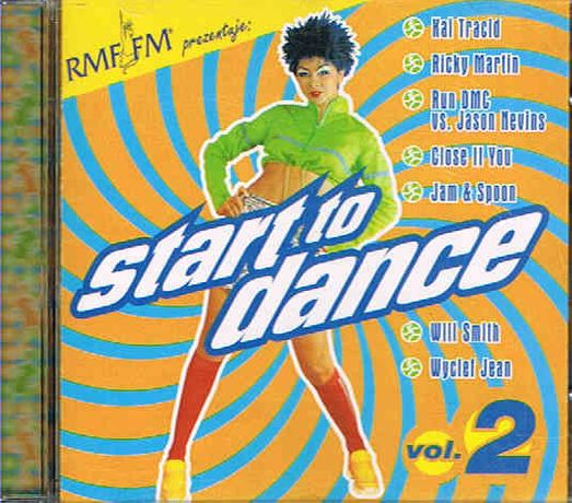 START TO DANCE vol. 2 - album CD składanka