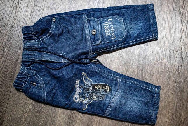 Детские джинсы на флисе 92см Yuto Kids