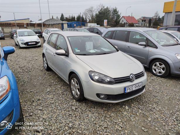 VW GOLF VI 1.6 MPI 102 KM klimatronic gwarancja przebiegu