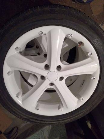 Felgi RH 20 cali białe, 9J20H2, ET50, 5x120 VW Touareg Audi Porshe
