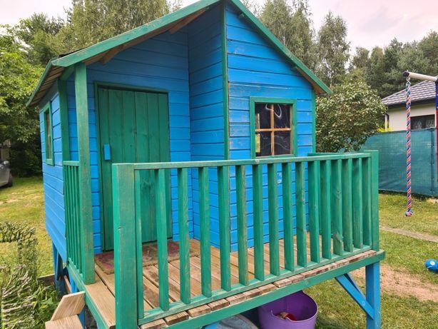 Domek dla dzieci drewniany duży