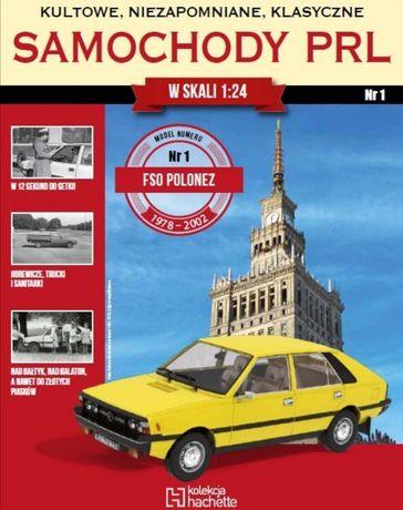 Polonez skala 1:24, Samochody PRL, kolekcja Hachette