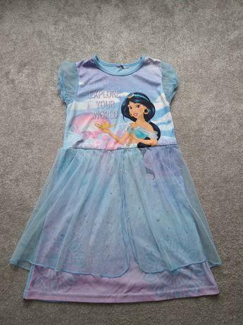 Sukienka Jasmina Alladyn 134 140 strój 128 bal balik karnawałowy