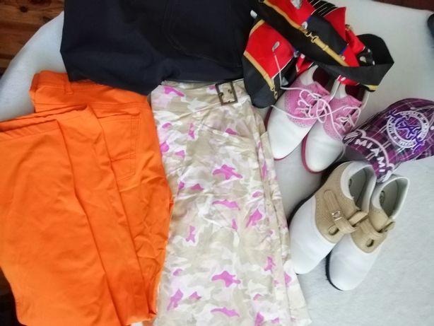 Buty i ubrania do golfa