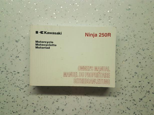 Instrukcja obsługi Kawasaki Ninja EX250 K9