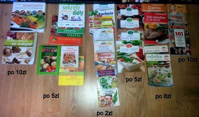 Książki kucharskie różne