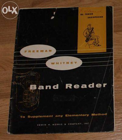 Freeman Whitney Band Reader Tenor Saxophone