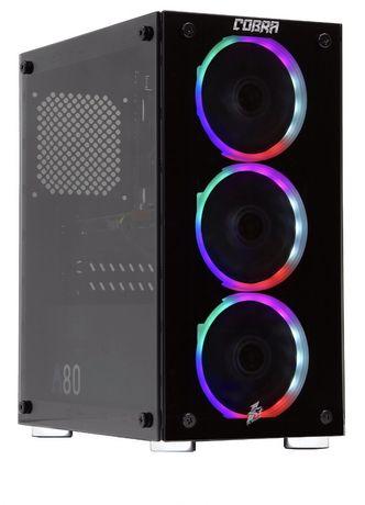 Компютер (пк) Ryzen 3 3100 3,6-3,9hz RX 570; Ram 8 Gb ssd 240 gb+1tb