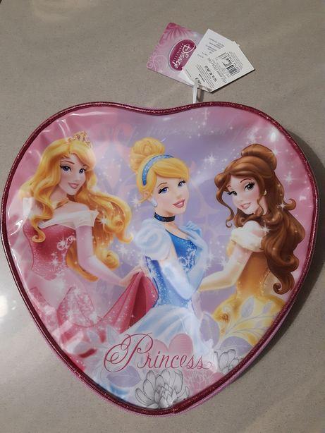 Plecak serce nowy z metką Księżniczki Disney Princess 3+