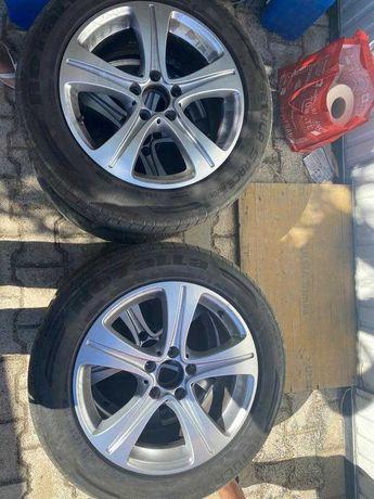 Jantes 17 mercedes originais + pneu