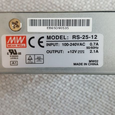 Zasilacz Mean Well RS-25-12
