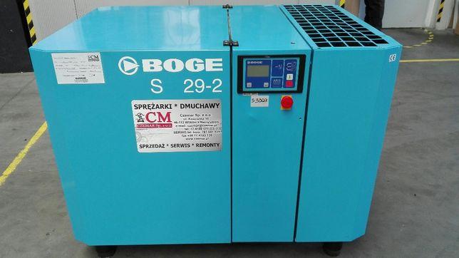Sprężarka,kompresor śrubowy Boge S-29-2, 22KW,S3368