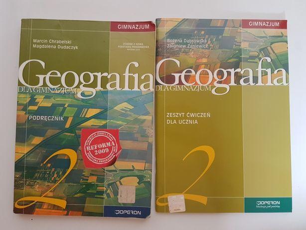 GEOGRAFIA dla gimnazjum operon 2 podręcznik zeszyt ćwiczeń