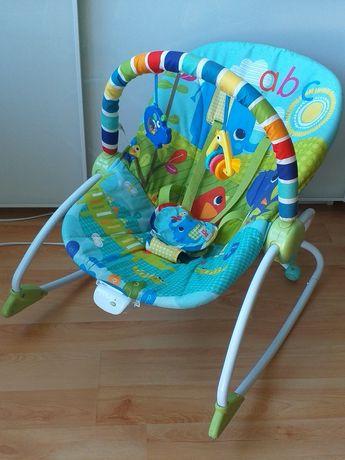 Leżaczek bujaczek kołyska fotelik dla dziecka Bright Starts