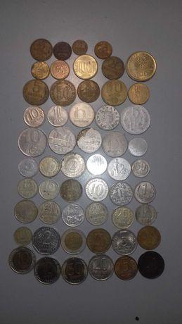 Набор монет 48шт
