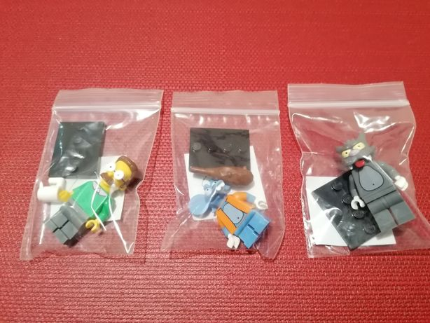 Lego 3 Minifiguras Simpsons