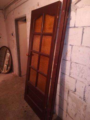 Drzwi drewniane p
