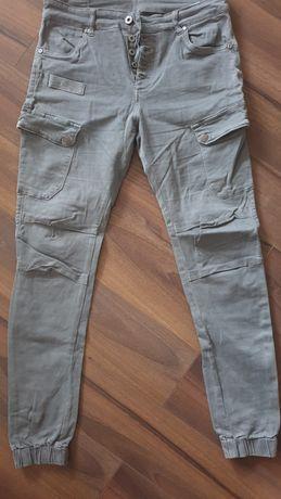 Spodnie bojówki roz S super model
