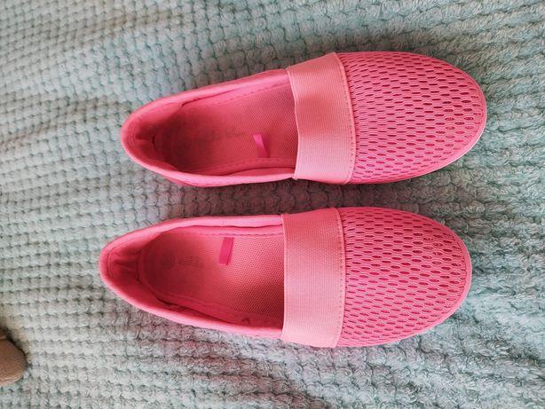 32 trampki siateczki neon roz nelli blu