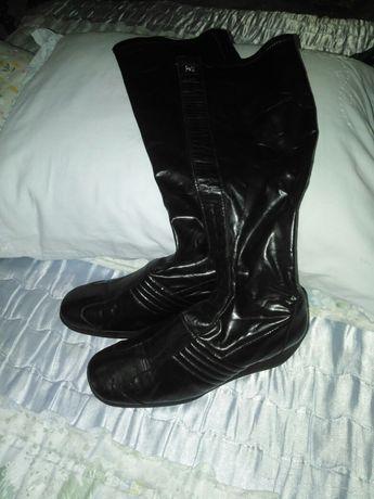 Botas de pele super conforto