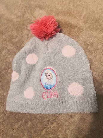 Sprzedam śliczną czapkę jesienną/lekka zima z Elsą