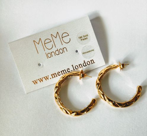 Kolczyki MeMe London - Elvera Earrings - Gold