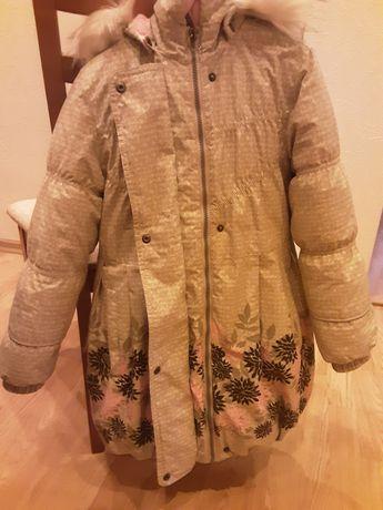 Зимнее пальто для девочки!