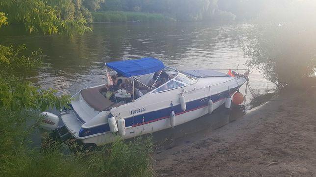Jacht spacerowy , łodź motorowa kabinowa, - motorówka