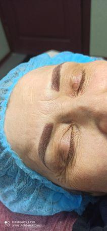 Перманентный макияж, наращивание/ламинирование ресниц, !