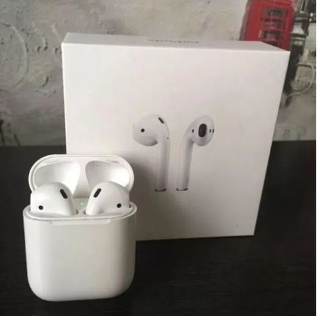 Airpods 2 with wireless charging case | 2020 | оригинал