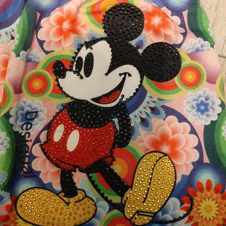 Desigual  Myszka Mickey sukienka 128