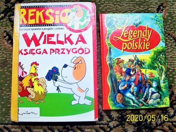Reksio - Wielka księga przygód plus Legendy Polskie zestaw