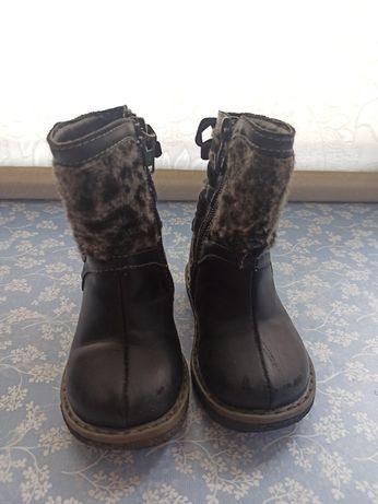 Осінні ботинки на дівчинку