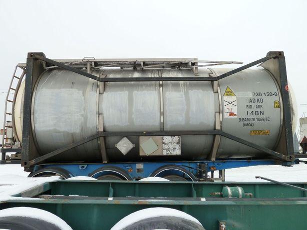 Танк-контейнер (бочка) 30000л. с подогревом, б/у Германия