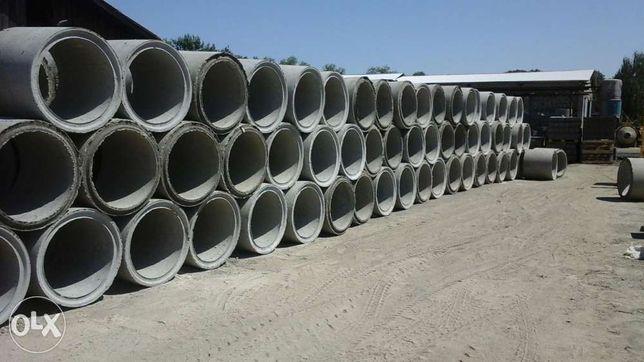 Бетонні кільця для криниць та каналізації шлакоблок