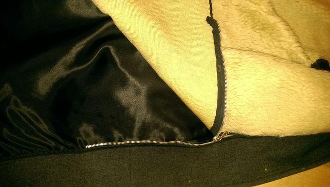 Мужское пальто на меху